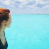 El Cielo, o mar com a cor mais incrível de Cozumel - México.