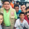 Com o pessoal da FPMC - Cozumel, México