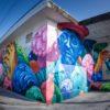 Grafite por Jason Botkin, representando Jacques Cousteau - Cozumel, México