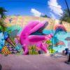 Grafite por Aaron Glassom - Cozumel, México