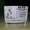 Aviso de perigo: ultrapassagem proibida! Grand Cenote - Tulum, México