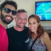 Nós com o Robbie Schmittner, que nos recebeu super bem no Xibalba hotel! - Tulum, México.
