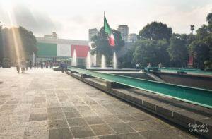 Entrada do Museu de Antropologia - Cidade do México