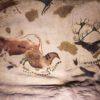 Pintura rupestre no Museu de Antropologia - Cidade do México