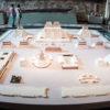 Maquete de toda a região onde ficava do Templo Mayor, no Museu de Antropologia - Cidade do México
