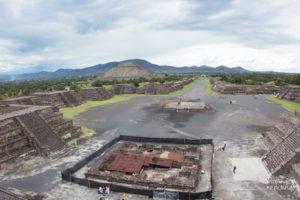 Pirâmides de Teotihuacan, na Cidade do México