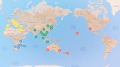mapa volta ao mundo