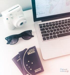 planejamento da viagem de volta ao mundo