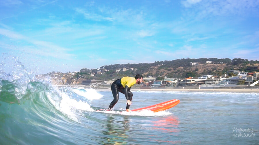 Aula de surf (San Diego, EUA)