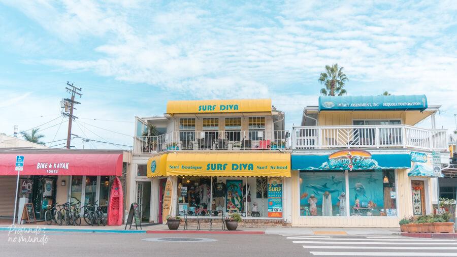 A loja da Surf Diva, em La Jolla (San Diego)